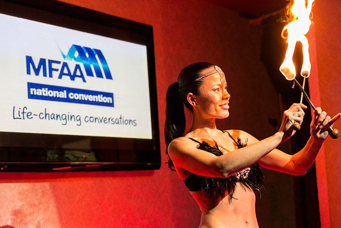 The MFAA 2014 Welcome Reception