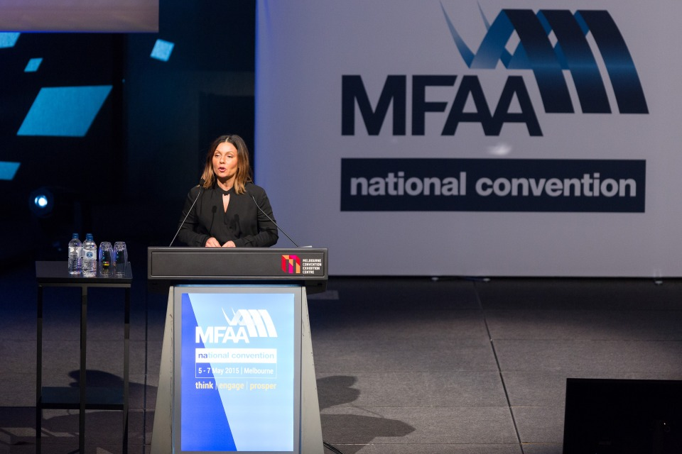 Opening Plenary - MFAA National Convention 2015 - Melbourne Convention and Exhibition Centre - Melbourne - Victoria - Australia - 2015