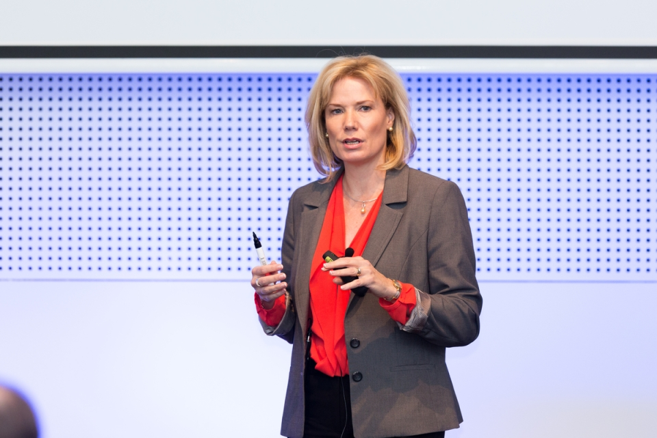Sandy Geyer May 7, 2015 - Stream 1:  MFAA National Convention 2015, Melbourne Convention and Exhibition Centre, Melbourne, Victoria, Australia. Credit: Pat Brunet / Event Photos Australia