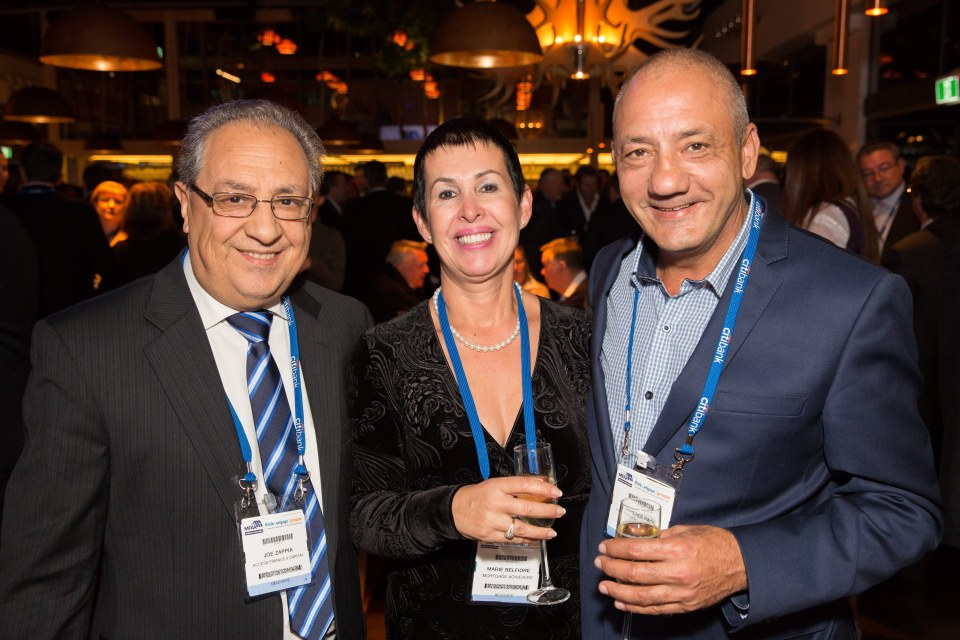 Welcome Reception - MFAA National Convention 2015 - Melbourne Convention and Exhibition Centre - Melbourne - Victoria - Australia - 2015