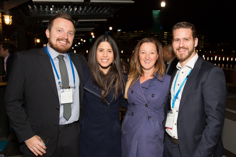 May 5, 2015 - Welcome Reception:  MFAA National Convention 2015, Melbourne Convention and Exhibition Centre, Melbourne, Victoria, Australia. Credit: Pat Brunet / Event Photos Australia
